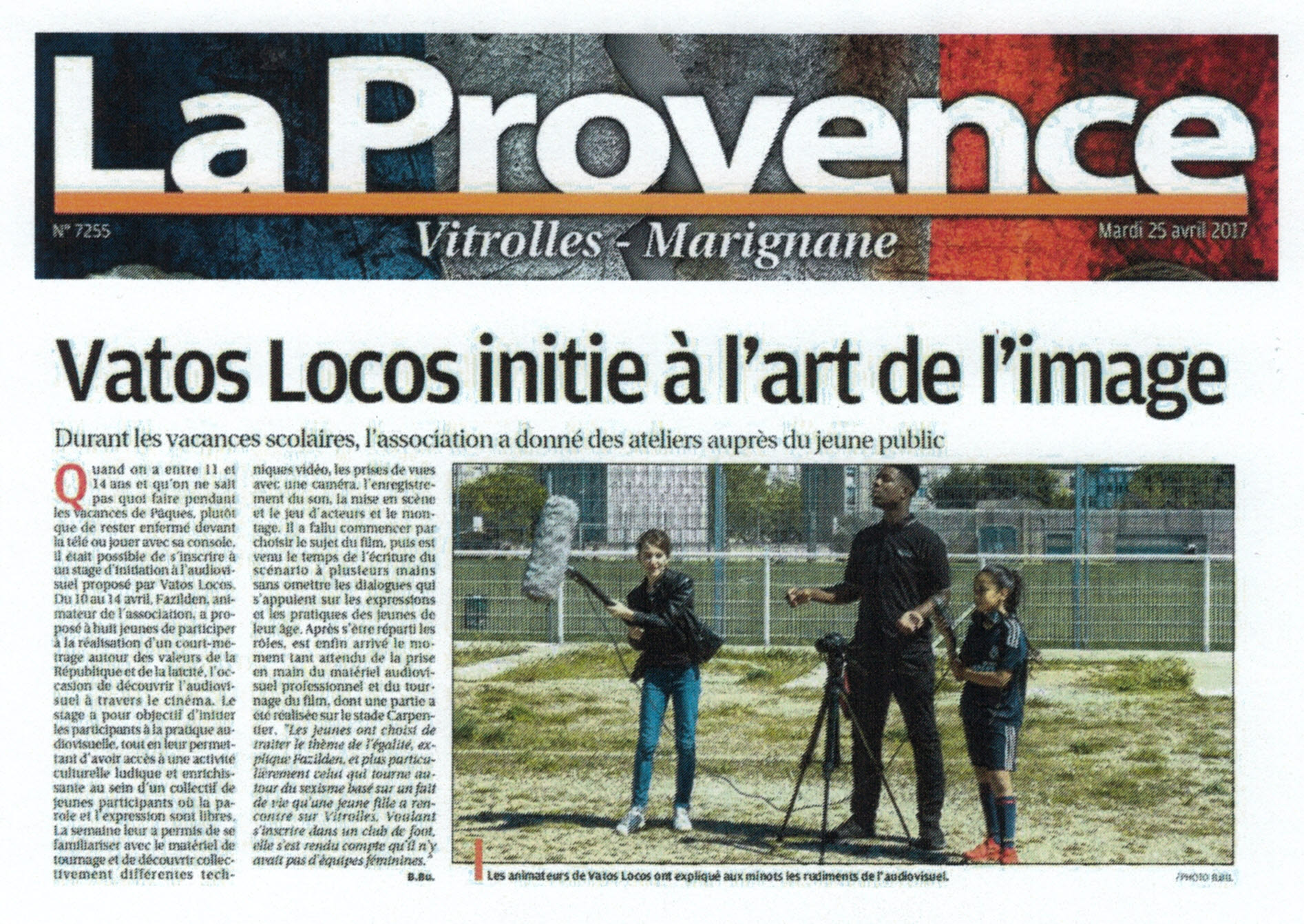 Stage Avril Laprovence 25 04 2017